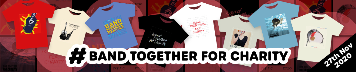 Band together for charity